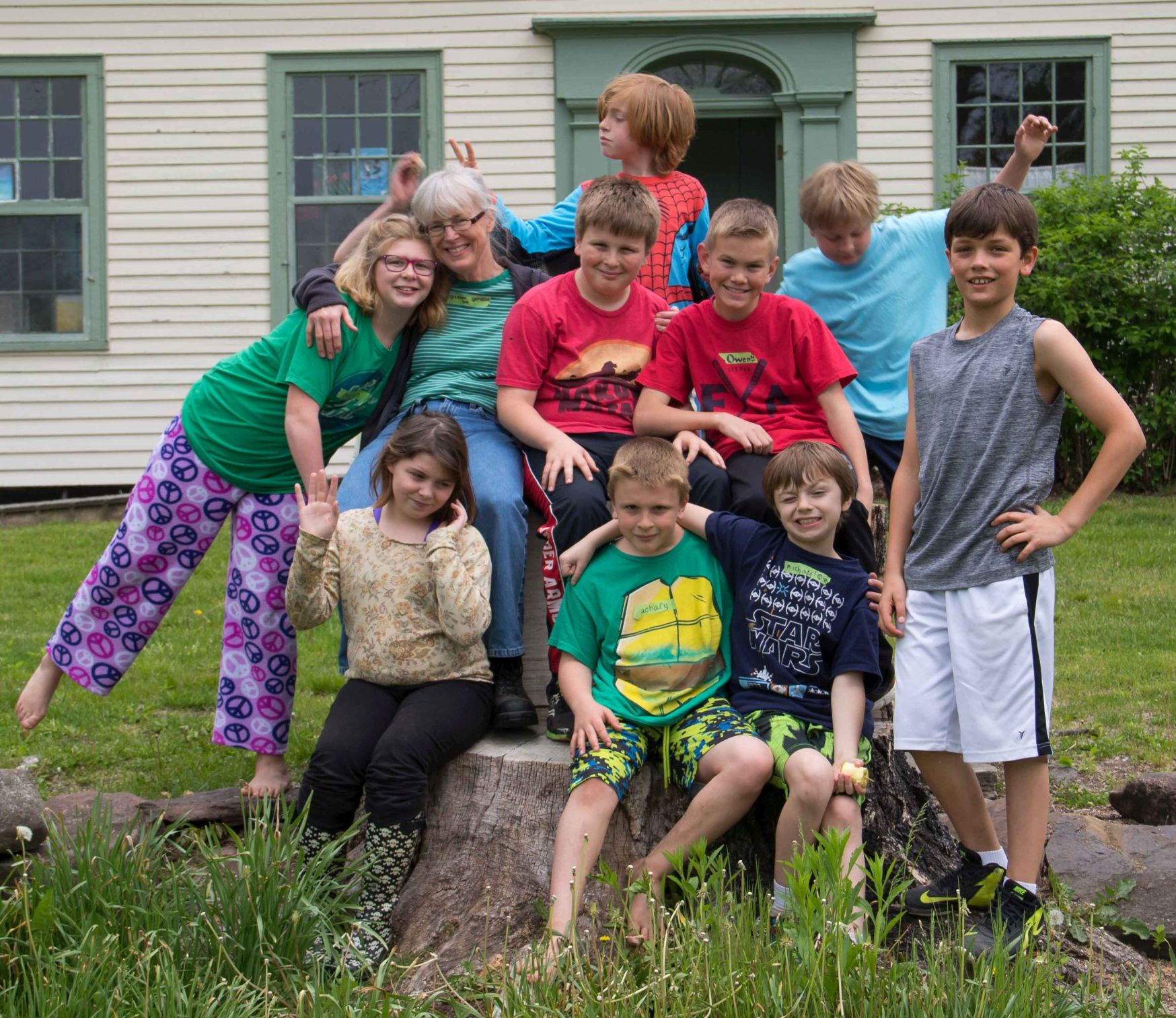 New England Junior Yearly Meeting Retreat, May 2016