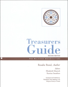 """Treasurers Guide for Religious Organizations, 2nd Edition"" - by Rosalie Bond"